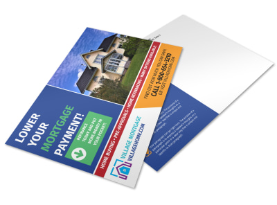 Mortgage Postcard Template 9ijh6mns4u preview
