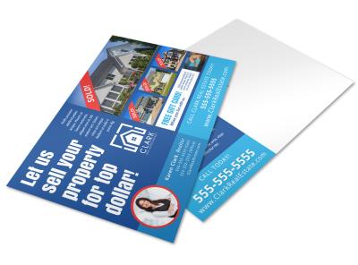 Just Sold Real Estate Postcard Template lkh06vatj5 preview