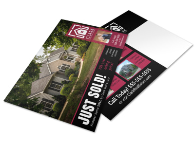 Just Sold Real Estate Postcard Template b728g2j7um preview