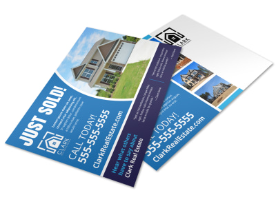 Just Sold Real Estate Postcard Template esdvoo6m7n preview