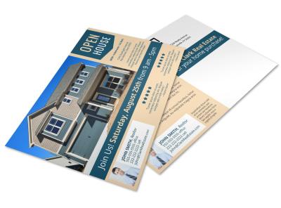Open House Postcard Template z4j1tgmktq preview