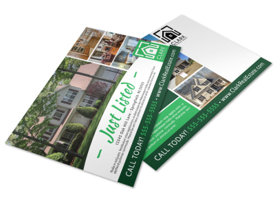 Just Listed Real Estate Postcard Template 909b1rddn4 preview