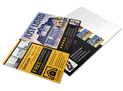 Just Listed Real Estate Postcard Template 88iuickk3z preview