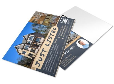 Just Listed Real Estate Postcard Template jxcsdq5lte preview