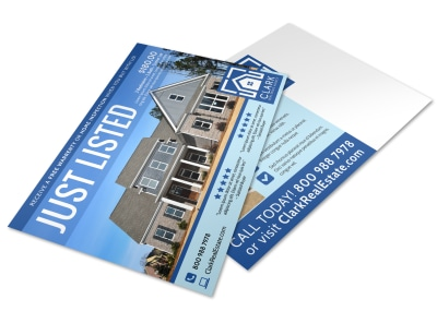 Just Listed Real Estate Postcard Template 1onyay9mmy preview