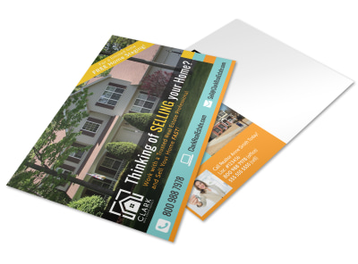 Thinking Of Selling Real Estate Postcard Template pyjjov8phy preview