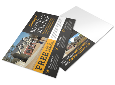 Thinking Of Selling Postcard Template 4j2m57sl5r preview