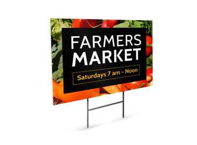 Farmers Market Yard Sign Template nbytr4whry preview