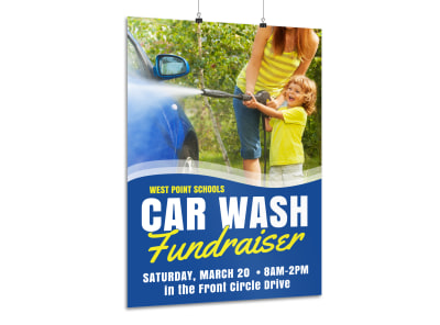 Car Wash Fundraiser Poster Template mgrioap1cr preview