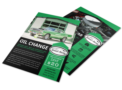Auto Oil Change Flyer Template slo8dhw3wf preview