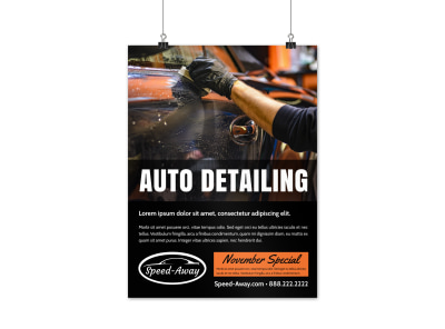Auto Detailing Poster Template x22xgcxte5 preview