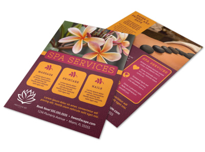 Spa Services Offered Flyer Template cpso7ufjos preview