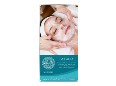 Spa Facial Banner Template i560v8nb01 preview