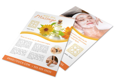 Spa Featured Product Flyer Template f58i2tbrp9 preview