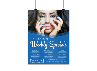 Nail Salon Specials Poster Template cnzz74g7vy preview