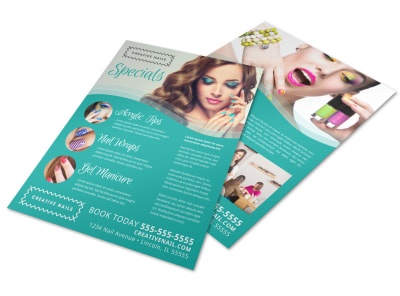 Nail Salon Specials Flyer Template owg0msom78 preview