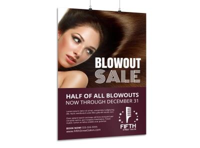 Hair Salon Sales Poster Template mq42wj36gl preview