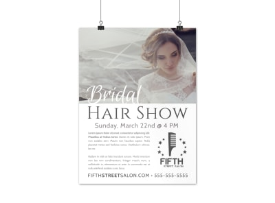 Special Event Hair Salon Poster Template fxxif9ga9r preview
