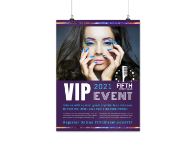 Special Event Hair Salon Poster Template xbkmkljdoe preview