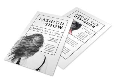 Fashion Show Flyer Template wyx5kbq7ls preview