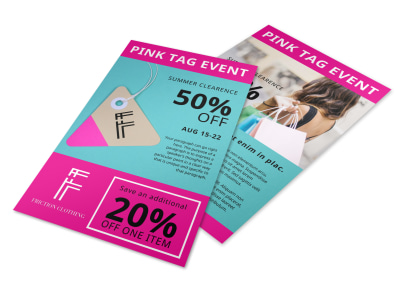Clothing Sale Flyer Template 4l0feen4lw preview
