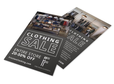 Clothing Sale Flyer Template 2gnua2gpp0 preview