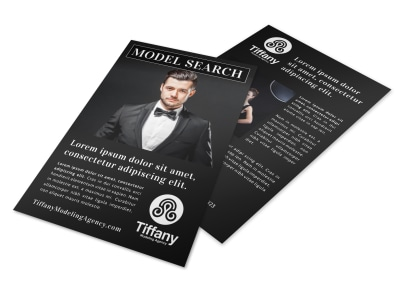 Model Search Flyer Template thmdxeqsii preview