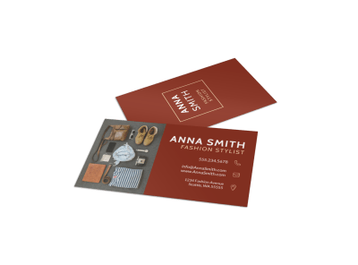 Fashion Business Cards Template Preview
