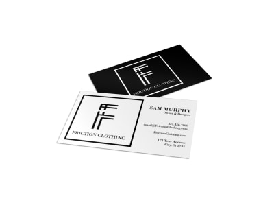 Fashion Business Card Template 3h56vzapzd preview