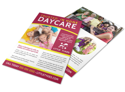 Home Daycare Flyer Template d1p530y4te preview
