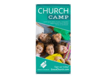 Church Camp Banner Template qs91bgwpds preview