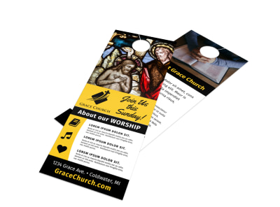 Church Service Door Hanger Template ljf2yv6s3a preview