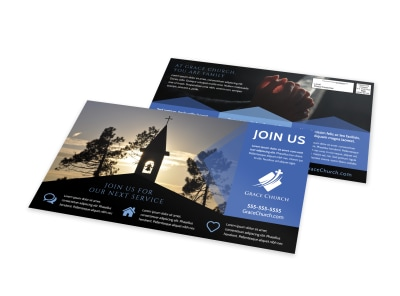 Church Outreach EDDM Postcard Template i213ibaaqu preview