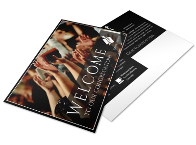 Church Welcome Postcard Template 77f0yu8ew9 preview