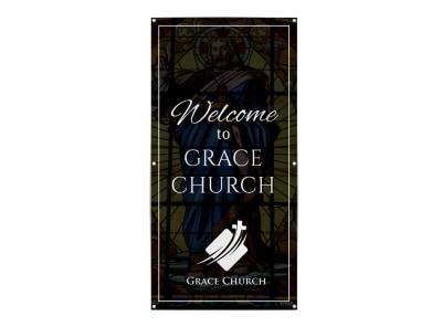 Church Welcome Banner Template yt0e7xxmat preview