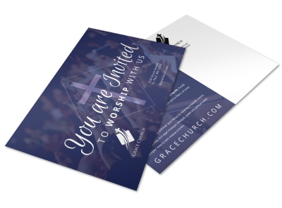 Church Invitation Postcard Template melu3htwfh preview