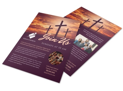 Church Invitation Flyer Template ln18rdq8bg preview