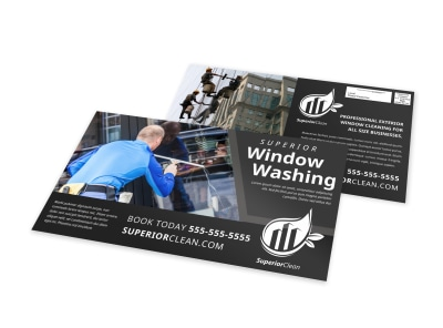 Window Cleaning EDDM Postcard Template iy1p64cnjd preview