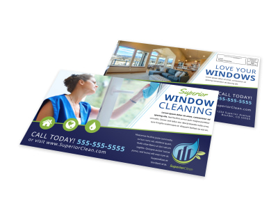 Window Cleaning EDDM Postcard Template 3etrgw3kr5 preview