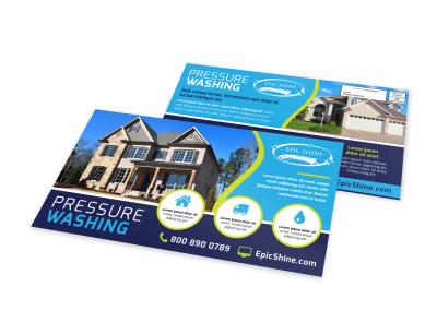 Pressure Washing EDDM Postcard Template l4va29nnc0 preview