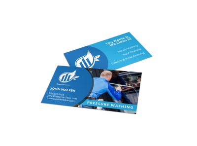 Pressure Washing Business Card Template ednfsh4k15 preview