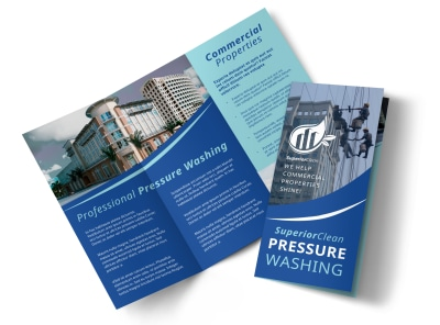 Pressure Washing Tri-Fold Brochure Template ryktmitur0 preview