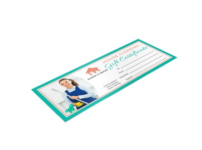 House Cleaning Gift Certificate Template 4qo10iqpsv preview