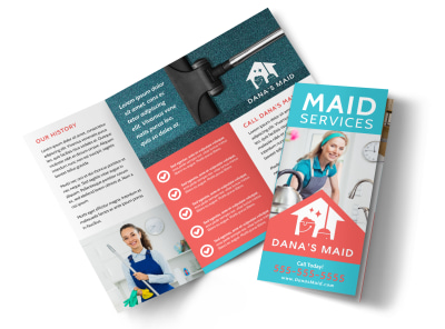Maid Service Tri-Fold Brochure Template ma08iq242k preview