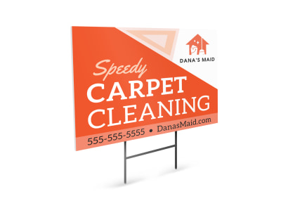 Carpet Cleaning Yard Sign Template 7xja2oddd1 preview