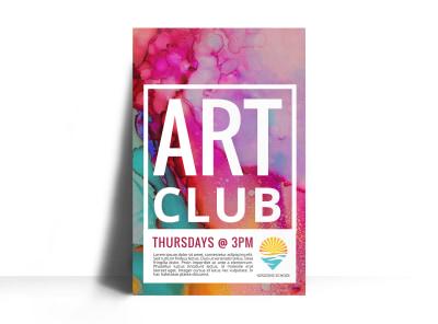 Art Club Poster Template pvxi74ktfv preview