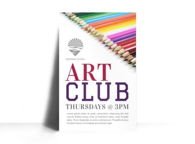 Art Club Poster Template 4o9qyy1zg3 preview