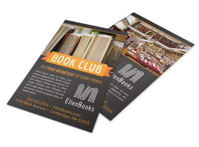 Book Club Flyer Template cajz713vbo preview