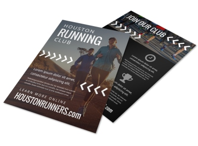 Running Club Flyer Template rj04amobbd preview