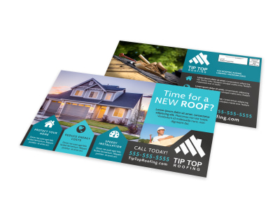 Roofing EDDM Postcard Template auqu8fy63o preview